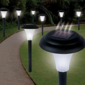 Burning Man Solar Lights