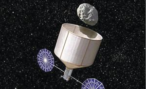 capturando asteróides