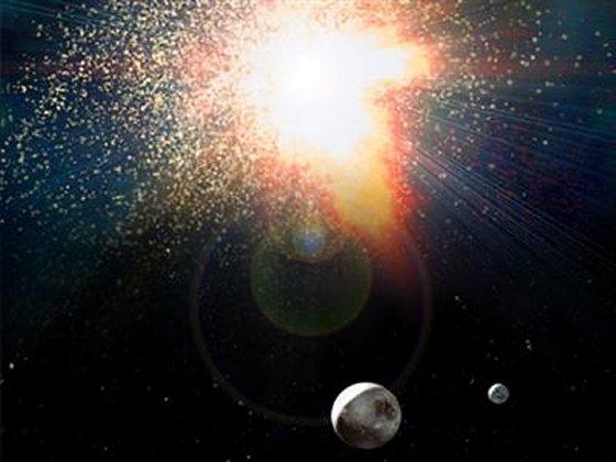 Explosão de supernova