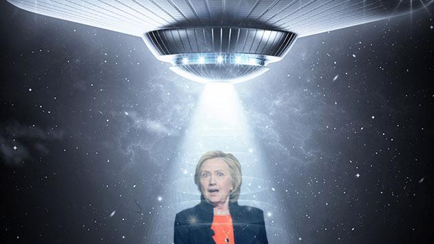 A verdade sobre Hillary Clinton, OVNIs / UFOs e a Área 51