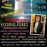 V Jornada de Estudos Ufológicos de 2016 em Minas Gerais – Brasil