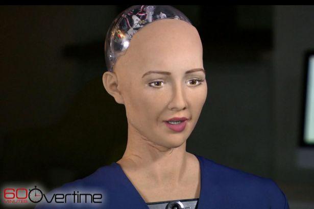 A robô Sophia insinua ter uma alma