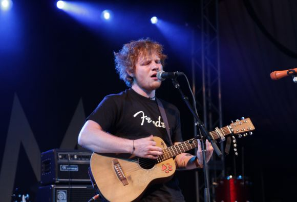 Ed Sheeran @ Stubb's