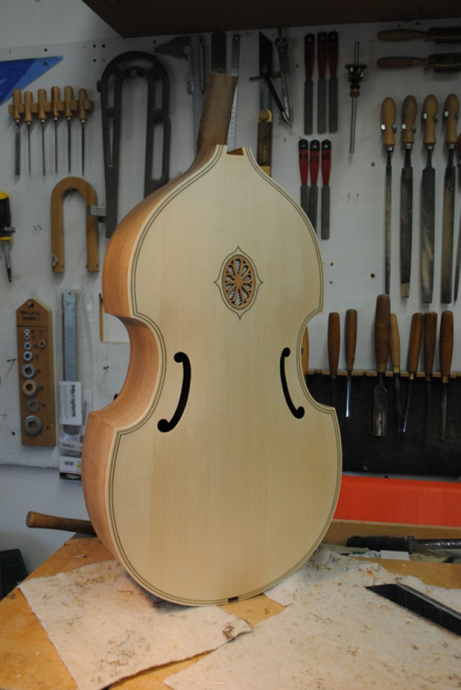 Finished body ready for the neck