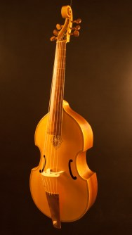 Bass viol after Henry Jaye