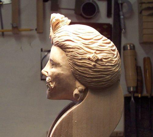 Tromba marina head