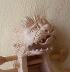 Lions head after Tielke