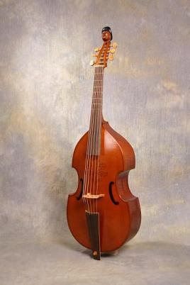 6 string bass viol after anon 1649