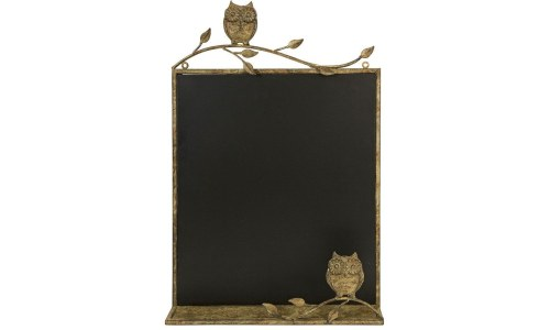 Adeline Owl Chalkboard Wall Decor