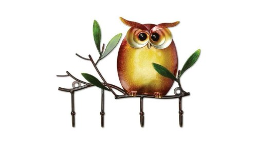 Decorative Owl Keyring Holder