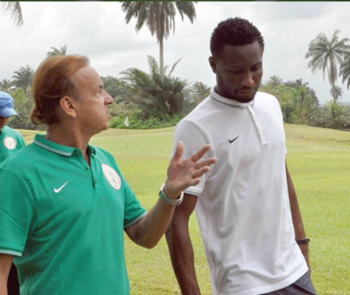 Why Chelsea coach, Conte is 'punishing' Mikel Obi – Rohr