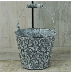 Small Zinc Bucket 19cm £2.99
