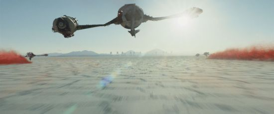 Crait in Star Wars: The Last Jedi.