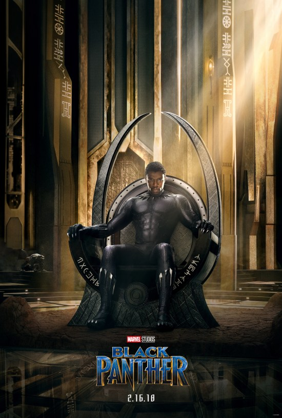 The Black Panther poster.