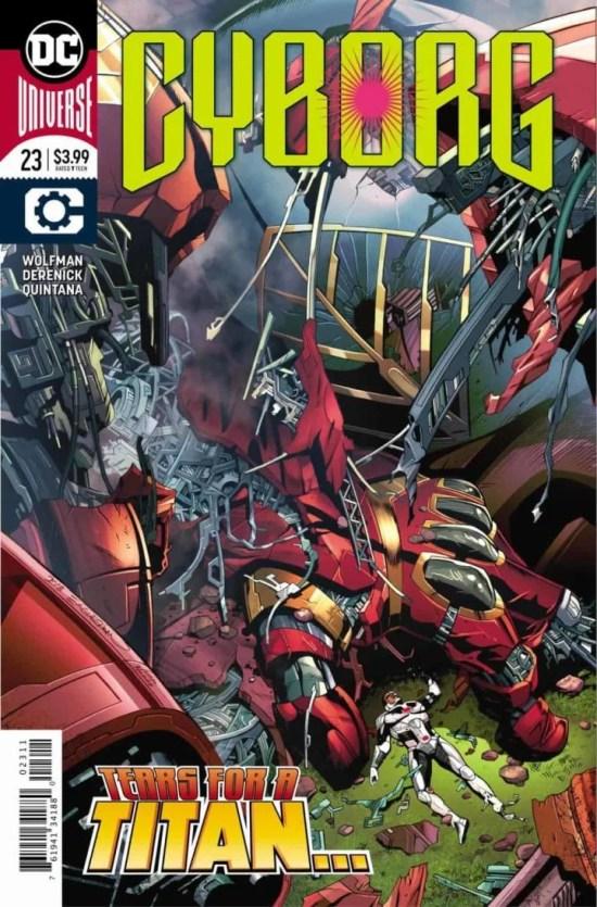 Cyborg #23 cover by Dale Eaglesham. (DC Entertainment)