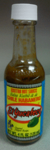 El Yucateco brand of hot sauce (photo from wiki)