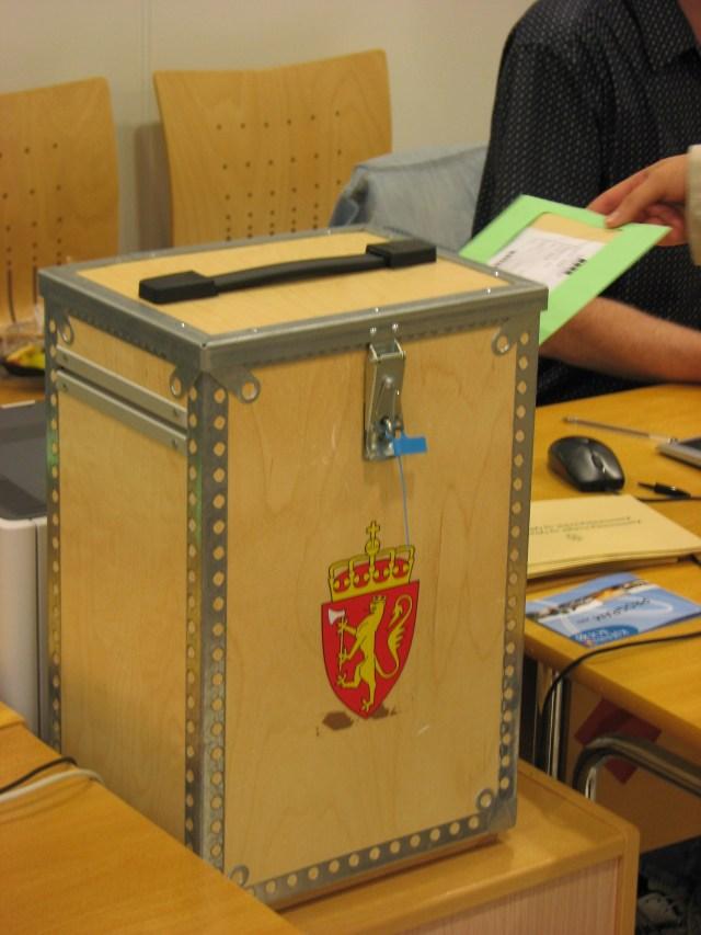 Norsk_stemmeurne