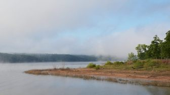 Early Morning mist on the lake - Berry Bend, Harry S Truman Reservoir