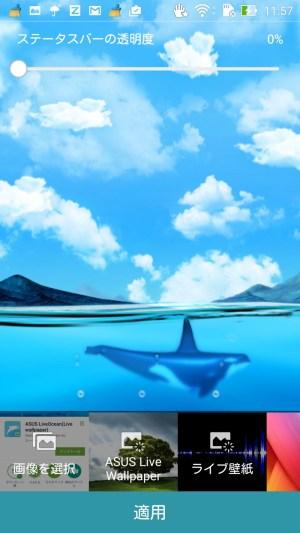 Myoceanでシャチが画面右へ泳ぐ様子