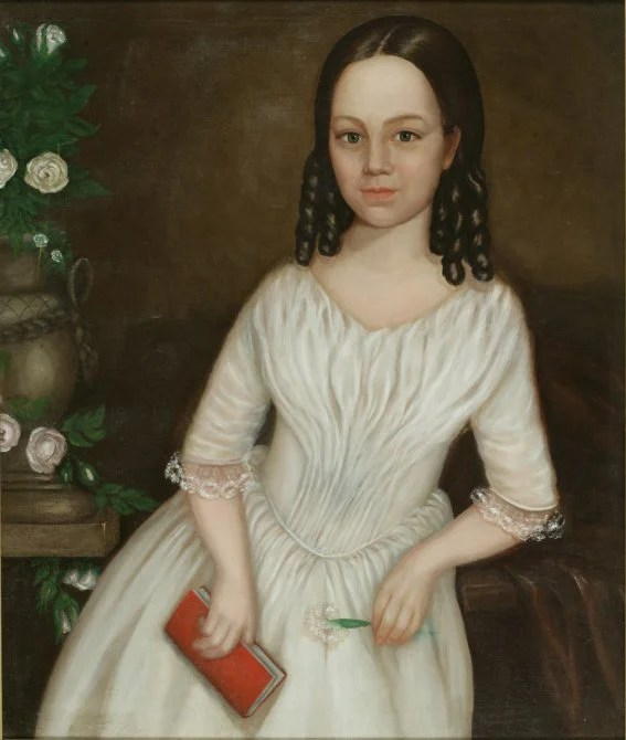 8: Pair of American School Portraits