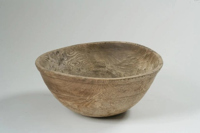 42:  Oviod  Ash Burl Bowl