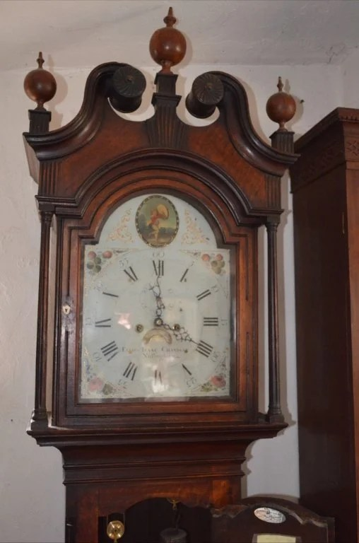 71:  Chippendale Tall-Case Walnut Eight-Day Clock