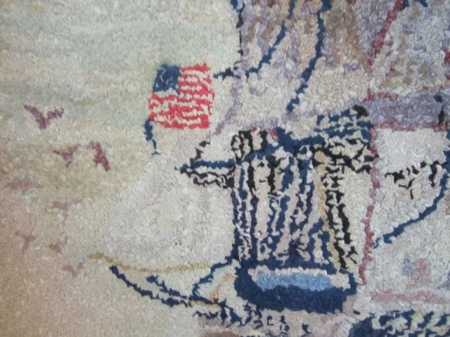 171: Two American Hooked Rugs