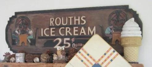 187: Routh's Ice Cream Sign