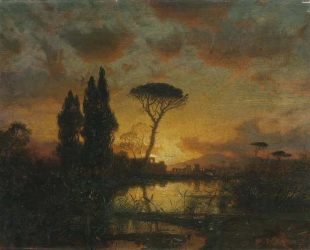 254: William Stanley Haseltine (American, 1835-1900)