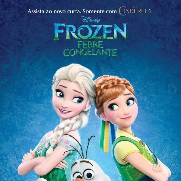 Poster do filme Frozen: febre congelante