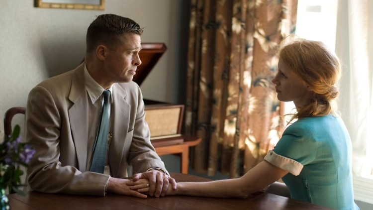 Brad Pitt og Jessica Chastain i The Tree Of Life (Foto: SF Norge).