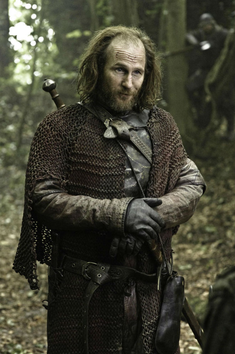Paul Kaye som Thoros of Myr.  (Foto: Helen Sloan, HBO).