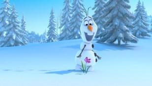 Den sprudlende snømannen Olaf i Frost (Foto: The Walt Disney Company Nordic).