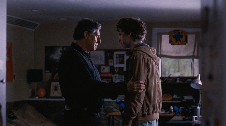 Gabriel Byrne og Jesse Eisenberg i Joachim Triers Louder Than Bombs (Foto: SF Norge AS).