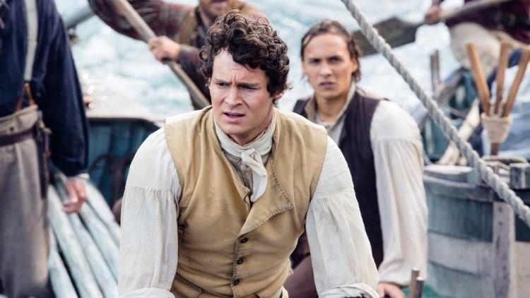Kaptein George Pollard Jr. (Benjamin Walker) gjør ukloke valg i In The Heart Of The Sea (Foto: SF Norge AS).