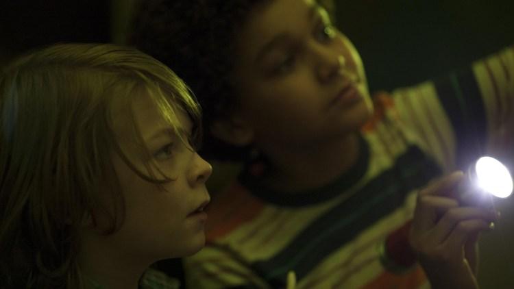 "Oakes Fegley og Jaden Michael i ""Wonderstruck"". (Foto: Festival de Cannes)"