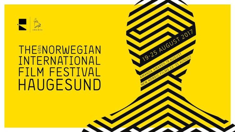 Dette er årets festivalplakat i Haugesund. (Foto: Den norske filmfestivalen)