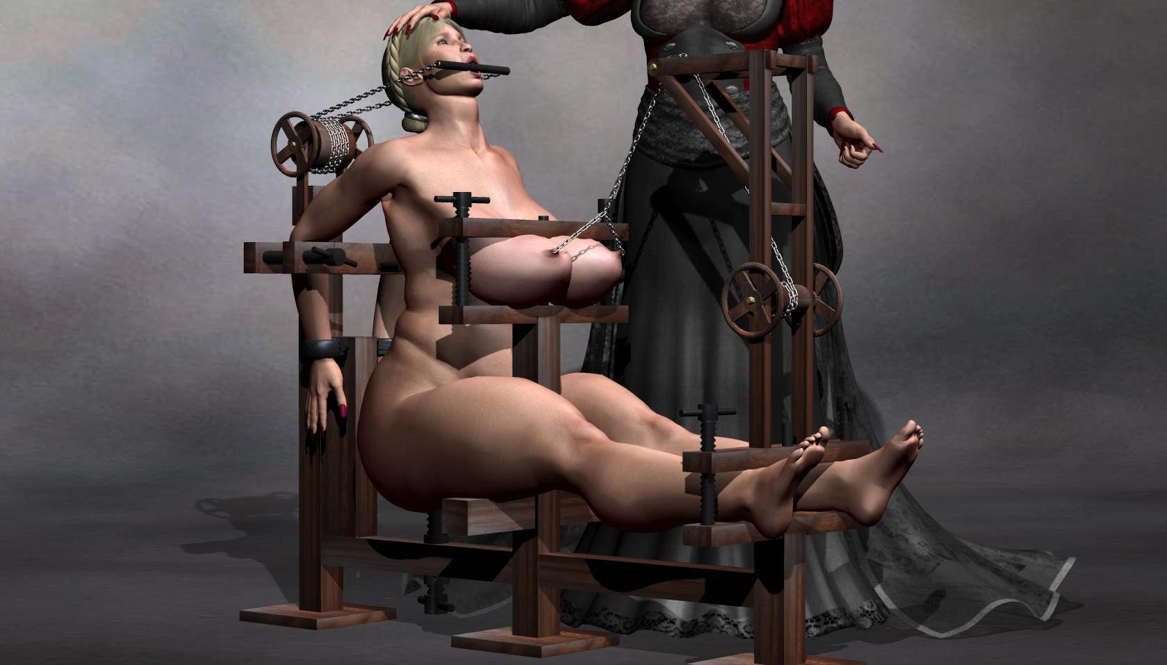 Femdom torture gallery Black Master
