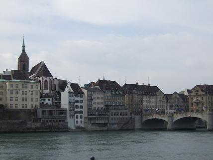 Basel is a relaxing city