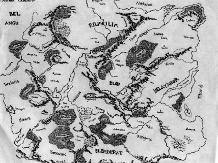 A sample fantasy map from Fantasy Mapmaking 101 (I can't do anything this good)