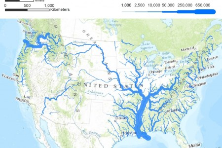 american rivers a graphic pacific insute