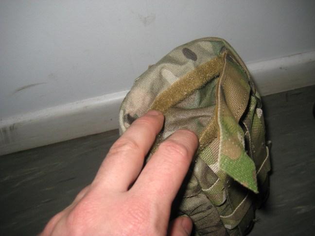 Rubber glove compartment