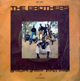 Portada del disco - The Brothers - Funky Paella.
