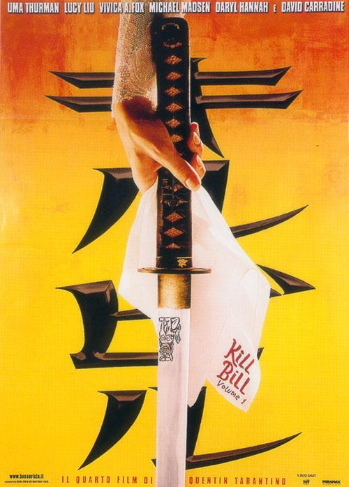 Locandina Kill Bill - Volume 1