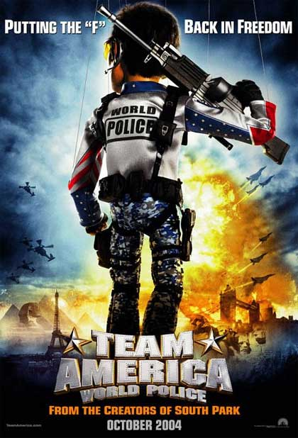 Locandina Team America