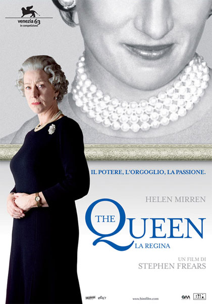 Locandina italiana The Queen - La regina