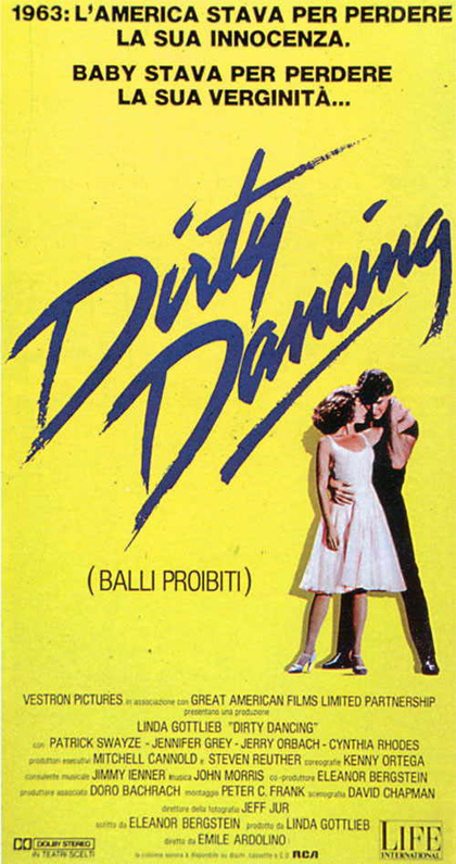 Locandina italiana Dirty Dancing