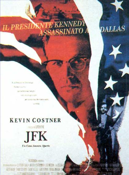 Locandina italiana JFK - Un caso ancora aperto