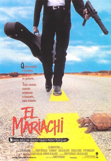 Locandina italiana El Mariachi