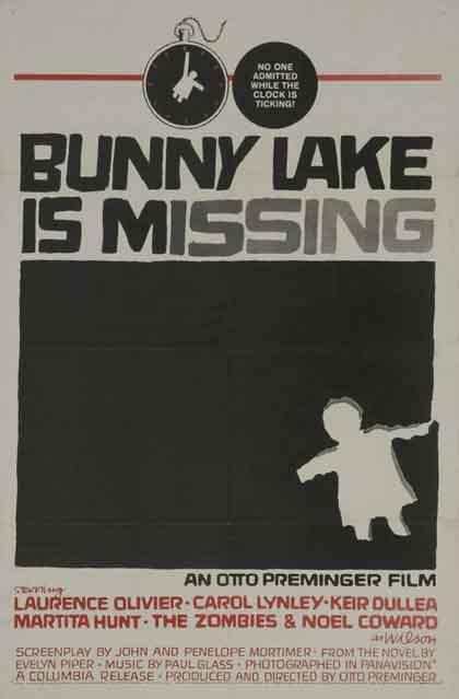 Locandina Bunny Lake è scomparsa